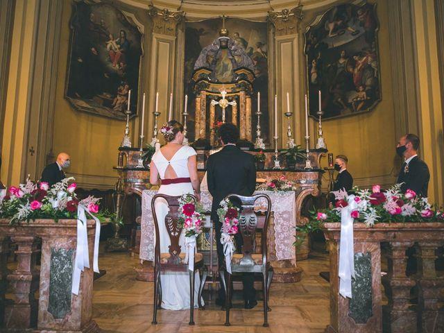Il matrimonio di Samuele e Francesca a Marzio, Varese 69