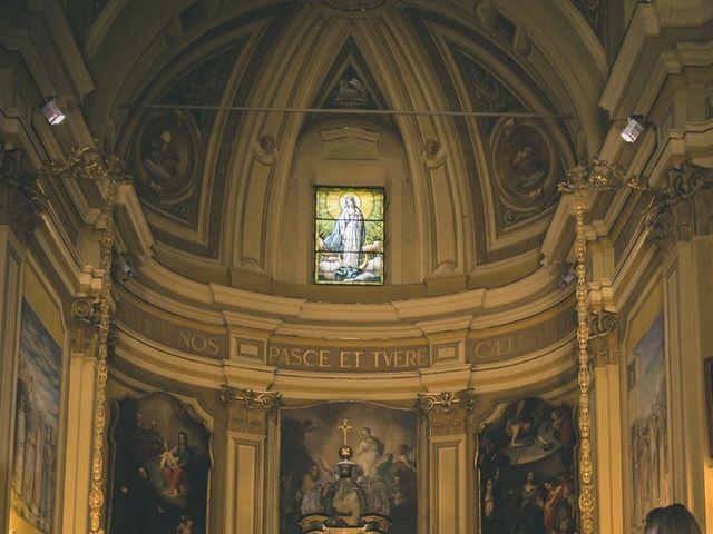 Il matrimonio di Samuele e Francesca a Marzio, Varese 73