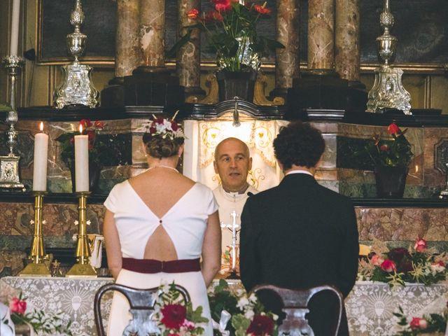 Il matrimonio di Samuele e Francesca a Marzio, Varese 74