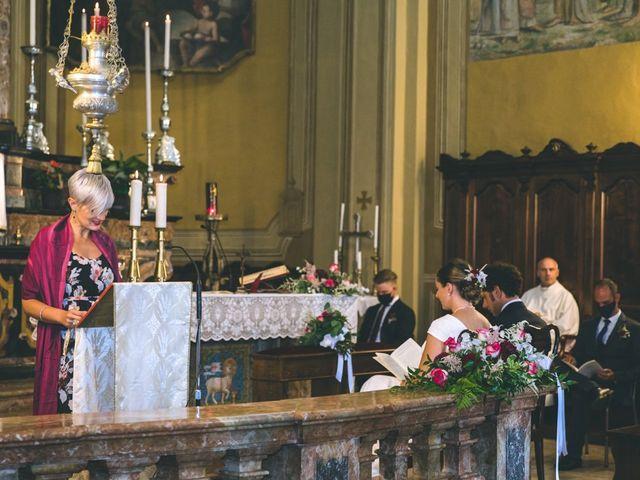 Il matrimonio di Samuele e Francesca a Marzio, Varese 75