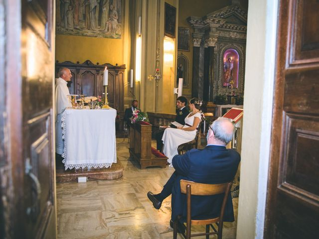 Il matrimonio di Samuele e Francesca a Marzio, Varese 77