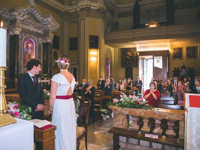 Il matrimonio di Samuele e Francesca a Marzio, Varese 87