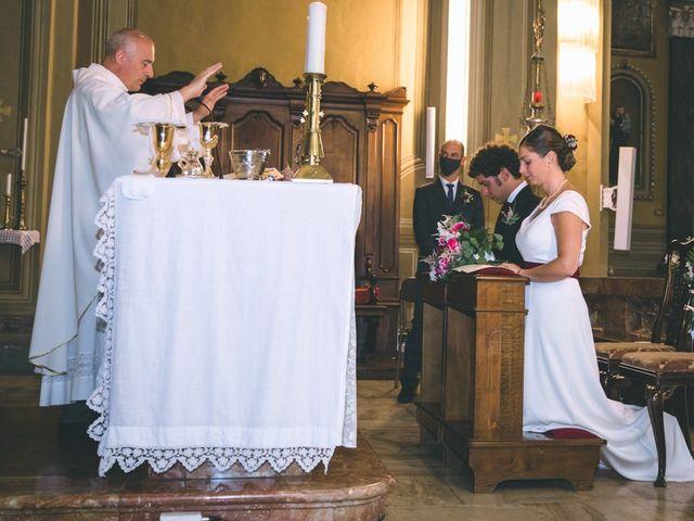 Il matrimonio di Samuele e Francesca a Marzio, Varese 88