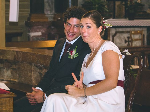 Il matrimonio di Samuele e Francesca a Marzio, Varese 90