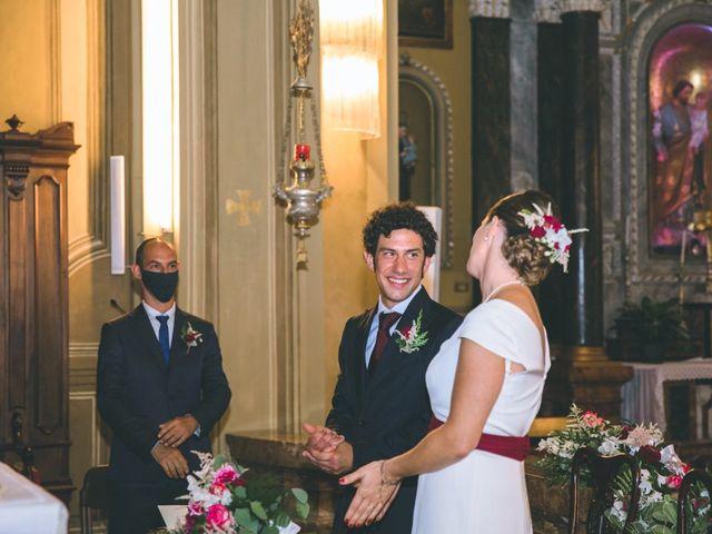Il matrimonio di Samuele e Francesca a Marzio, Varese 91