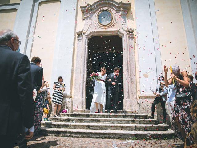 Il matrimonio di Samuele e Francesca a Marzio, Varese 94