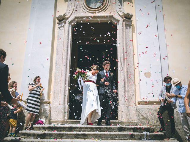 Il matrimonio di Samuele e Francesca a Marzio, Varese 95