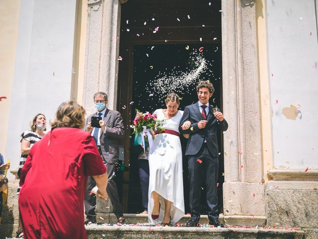 Il matrimonio di Samuele e Francesca a Marzio, Varese 96