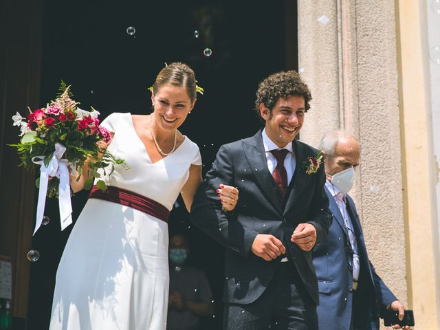 Il matrimonio di Samuele e Francesca a Marzio, Varese 97