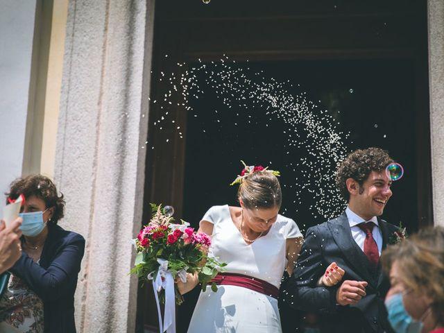 Il matrimonio di Samuele e Francesca a Marzio, Varese 98