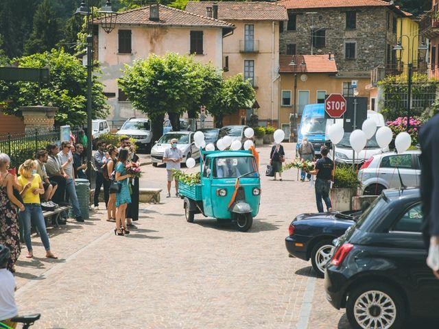 Il matrimonio di Samuele e Francesca a Marzio, Varese 99