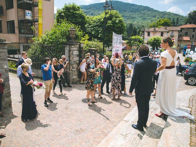 Il matrimonio di Samuele e Francesca a Marzio, Varese 100