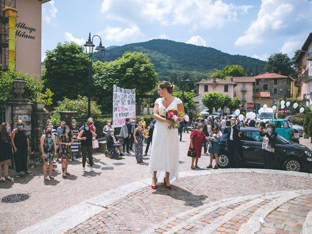 Il matrimonio di Samuele e Francesca a Marzio, Varese 101