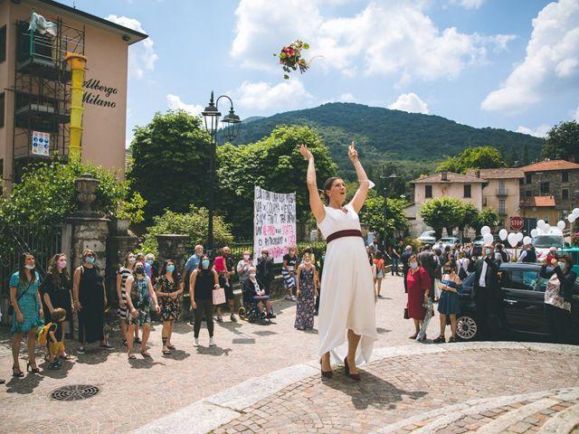 Il matrimonio di Samuele e Francesca a Marzio, Varese 102
