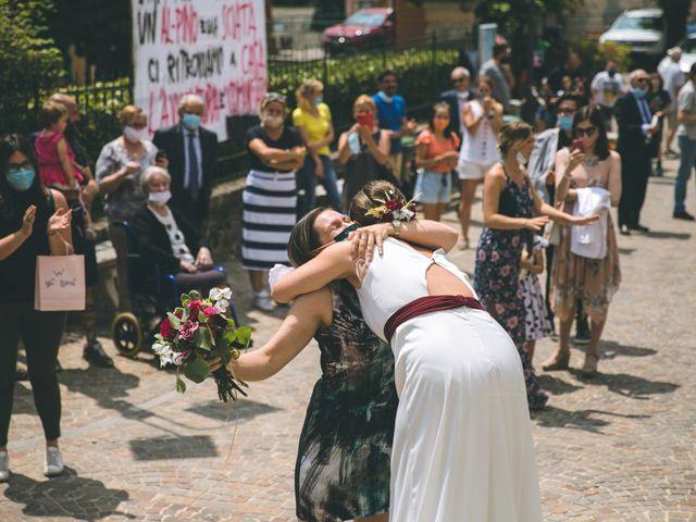 Il matrimonio di Samuele e Francesca a Marzio, Varese 104