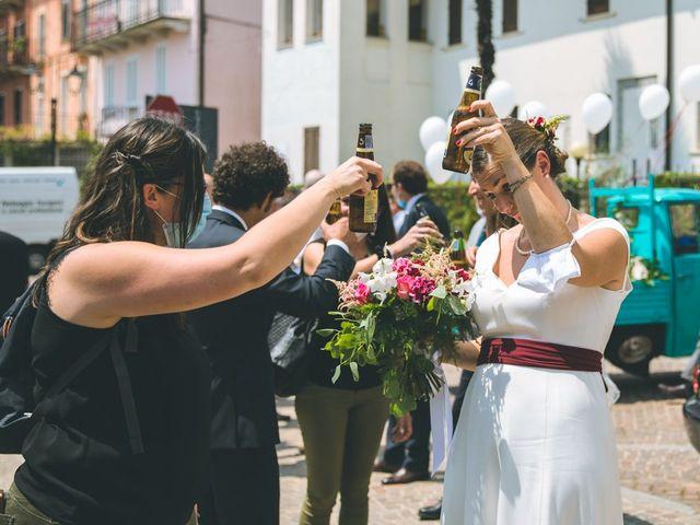 Il matrimonio di Samuele e Francesca a Marzio, Varese 110