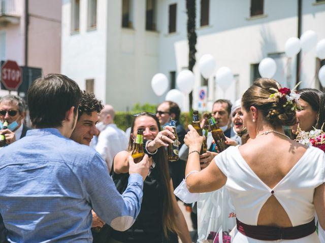 Il matrimonio di Samuele e Francesca a Marzio, Varese 111