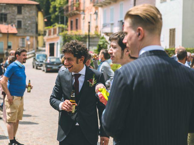 Il matrimonio di Samuele e Francesca a Marzio, Varese 112