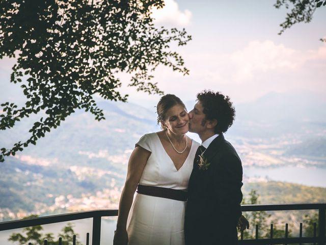 Il matrimonio di Samuele e Francesca a Marzio, Varese 120