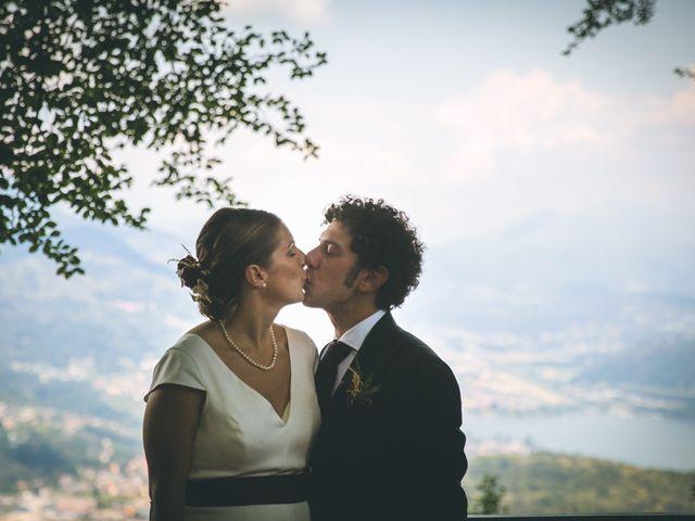 Il matrimonio di Samuele e Francesca a Marzio, Varese 121