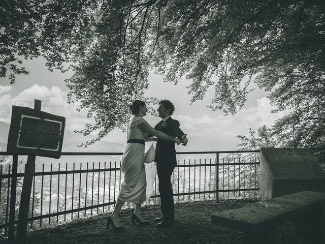 Il matrimonio di Samuele e Francesca a Marzio, Varese 122