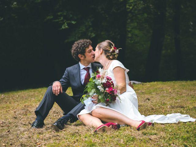 Il matrimonio di Samuele e Francesca a Marzio, Varese 127