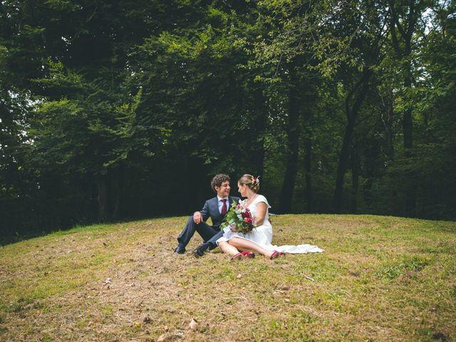 Il matrimonio di Samuele e Francesca a Marzio, Varese 128