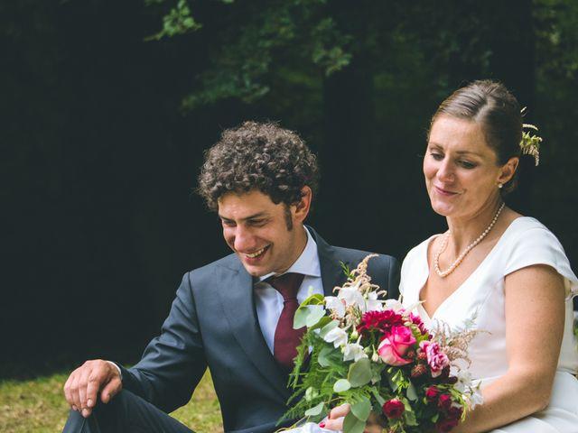 Il matrimonio di Samuele e Francesca a Marzio, Varese 130