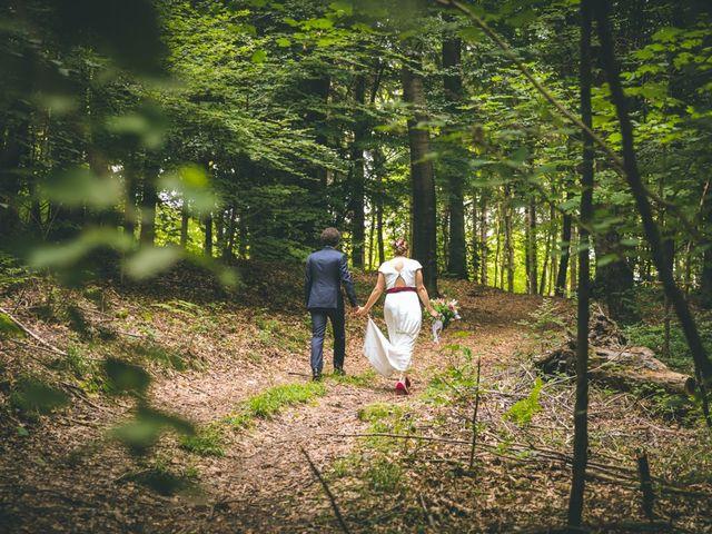 Il matrimonio di Samuele e Francesca a Marzio, Varese 1