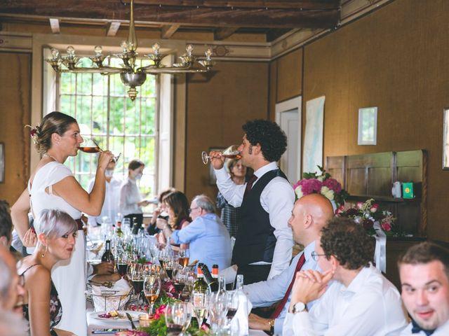 Il matrimonio di Samuele e Francesca a Marzio, Varese 150