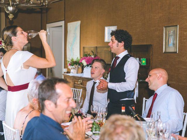 Il matrimonio di Samuele e Francesca a Marzio, Varese 151