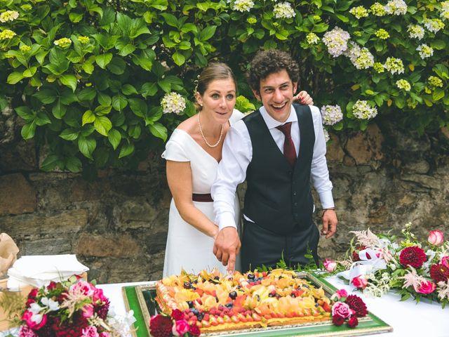 Il matrimonio di Samuele e Francesca a Marzio, Varese 169