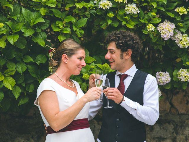 Il matrimonio di Samuele e Francesca a Marzio, Varese 173