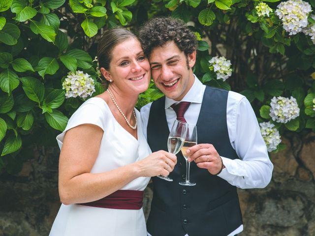 Il matrimonio di Samuele e Francesca a Marzio, Varese 174