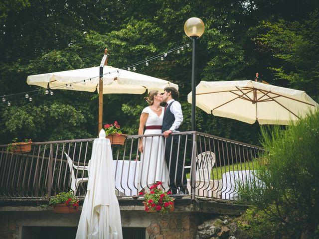 Il matrimonio di Samuele e Francesca a Marzio, Varese 177