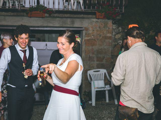 Il matrimonio di Samuele e Francesca a Marzio, Varese 190