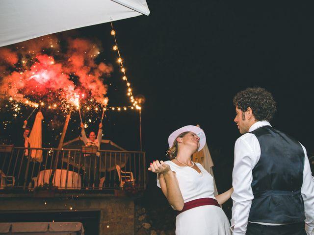 Il matrimonio di Samuele e Francesca a Marzio, Varese 195