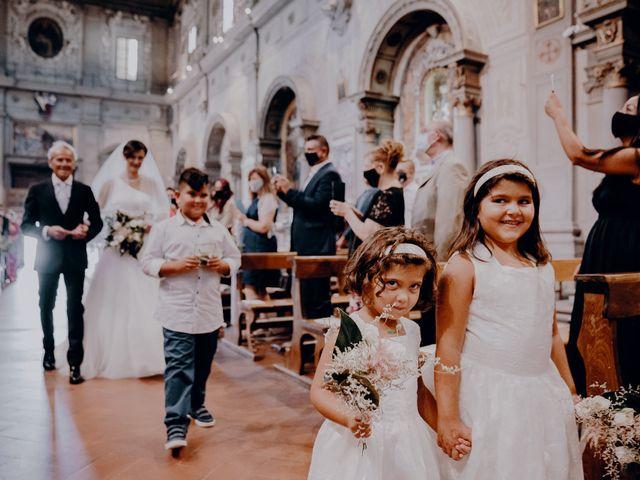 Il matrimonio di Michele e Lorenza a San Casciano in Val di Pesa, Firenze 18