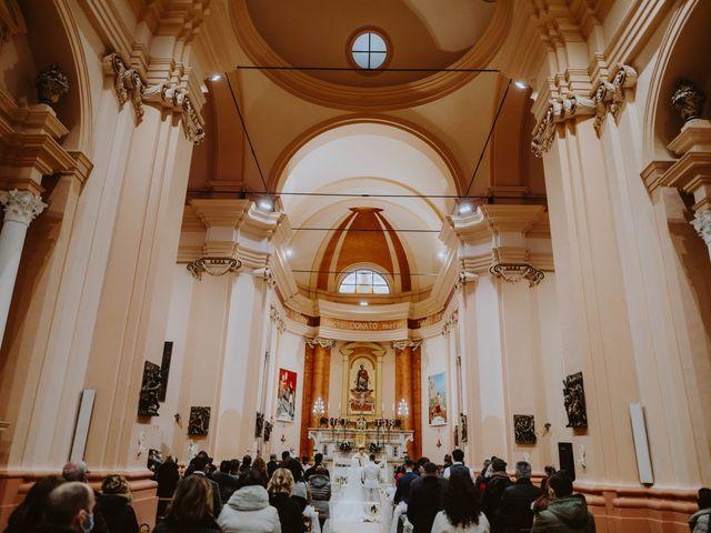 Il matrimonio di Desideria e Isaac a Castiglione Messer Raimondo, Teramo 4