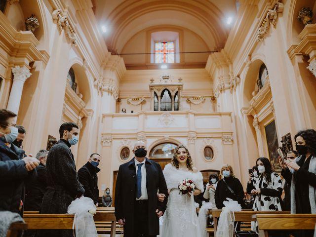 Il matrimonio di Desideria e Isaac a Castiglione Messer Raimondo, Teramo 9