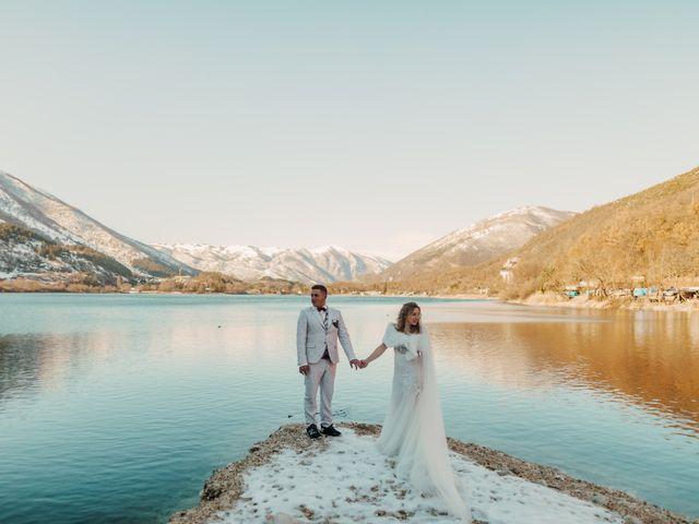 Il matrimonio di Desideria e Isaac a Castiglione Messer Raimondo, Teramo 30