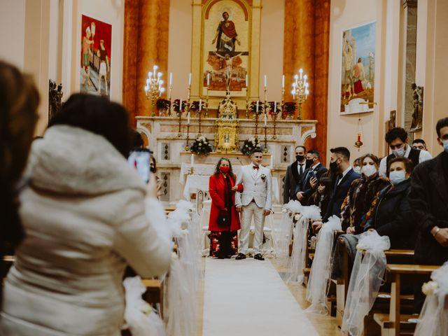 Il matrimonio di Desideria e Isaac a Castiglione Messer Raimondo, Teramo 42