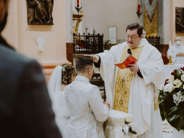Il matrimonio di Desideria e Isaac a Castiglione Messer Raimondo, Teramo 45