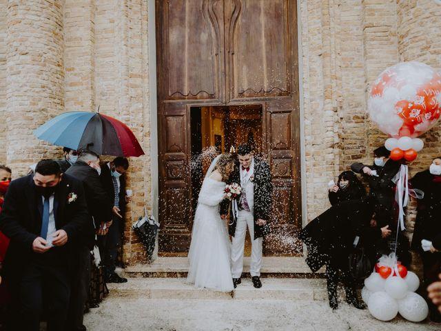 Il matrimonio di Desideria e Isaac a Castiglione Messer Raimondo, Teramo 106