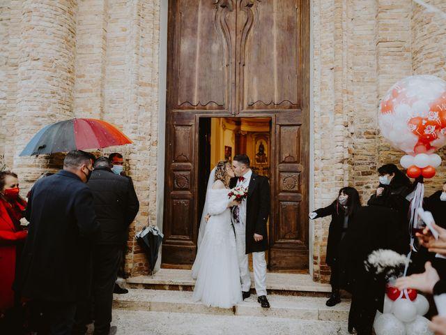 Il matrimonio di Desideria e Isaac a Castiglione Messer Raimondo, Teramo 107