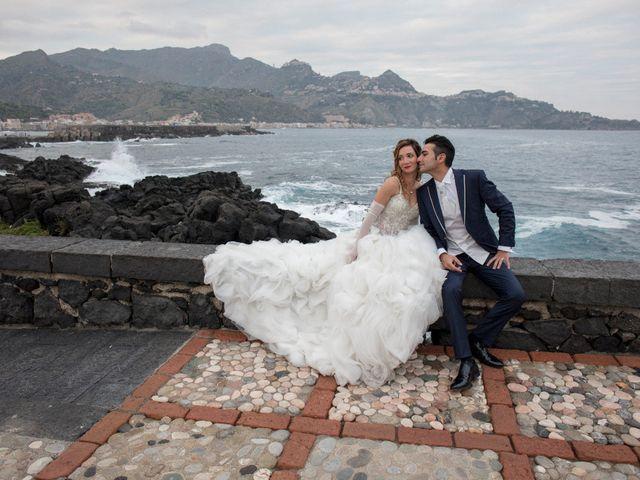 le nozze di Carmen e Antonio