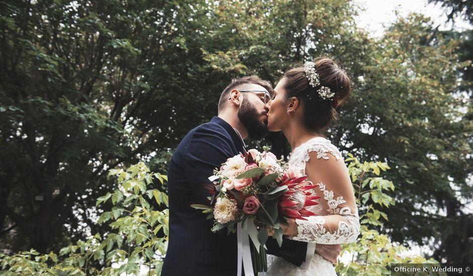 Il matrimonio di Francesco e Emanuela a Grottaferrata, Roma
