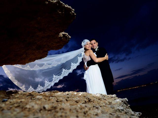 Le nozze di Santi e Cristina