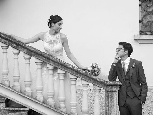 le nozze di Maria Chiara e Nicolas