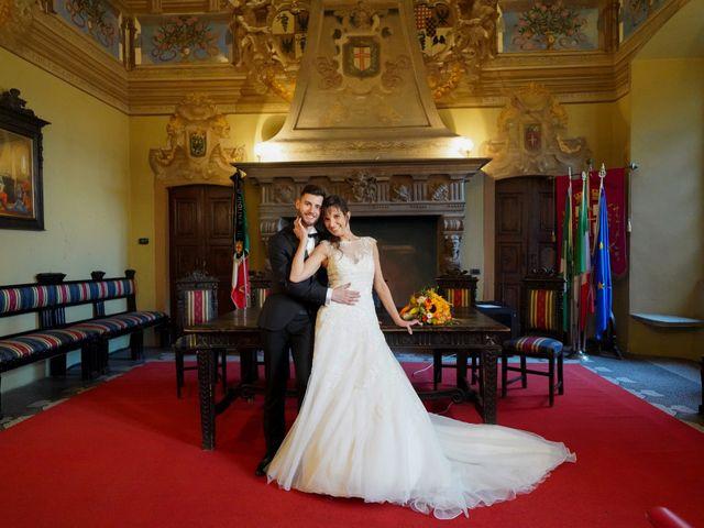 Il matrimonio di Giacomo e Raffaela a Cilavegna, Pavia 43